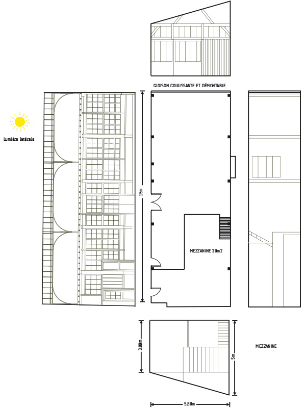 Plan for l'atelier